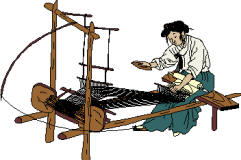 Weaver and loom